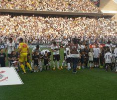 Jogo de futebol Corinthians