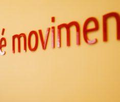 Imagem com o texo Vida é movimento