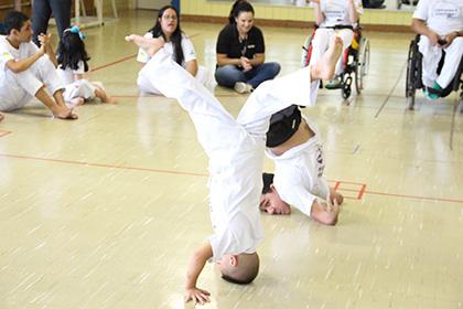 Aula de capoeira