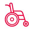 ícone Cadeira de rodas