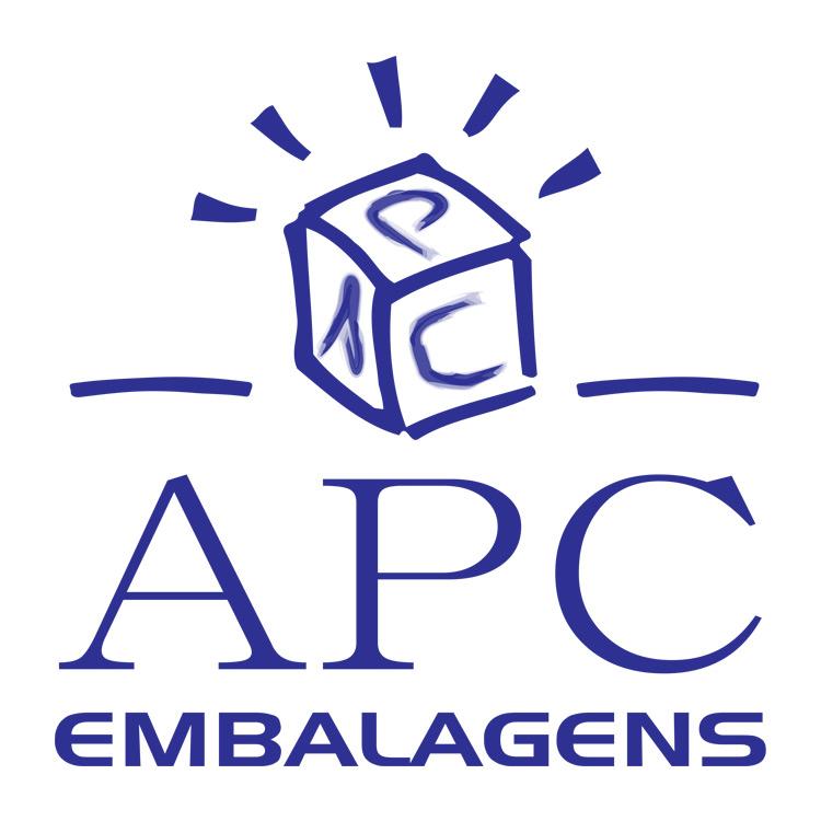 Logotipo APC embalagens