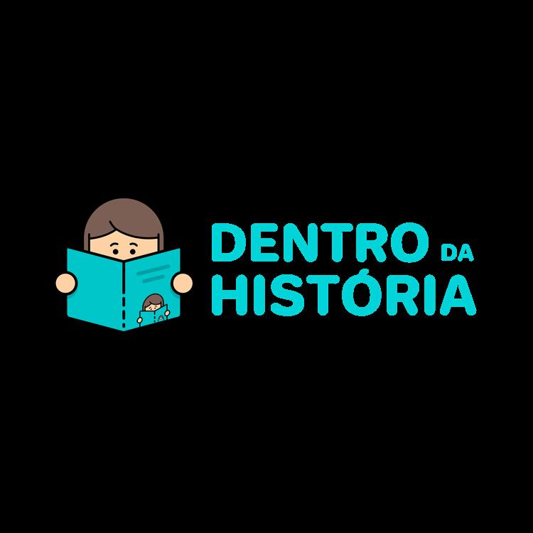 Logotipo Dentro da História