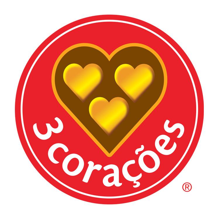 Logotipo 3 Corações