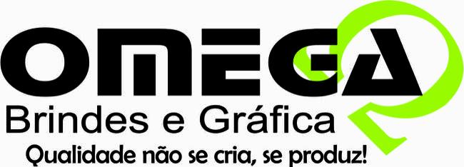 Logotipo Omega brindes