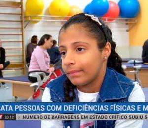 Rede TV News - AACD trata pessoas com deficiências físicas e motoras